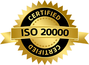 ISO 20000 Certified Company